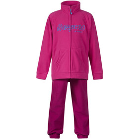 Bergans Smådøl Set Niños, hot pink/cerise/light winter sky